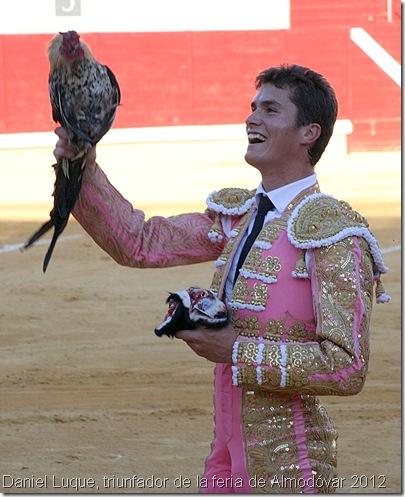 Daniel Luque, triunfador de la feria de Almodóvar 2012