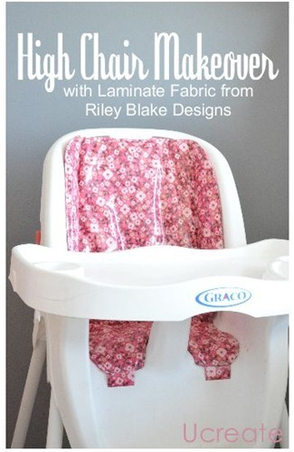 high chair makeover tutorial