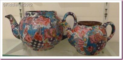 decopatch teapot flowerpot