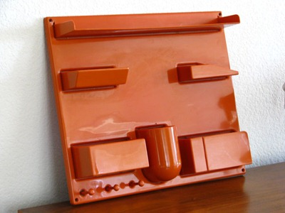 Dorothee Maurer-Becker Wall-All III, orange