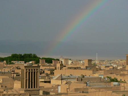 Yazd: Rainbow in the desert