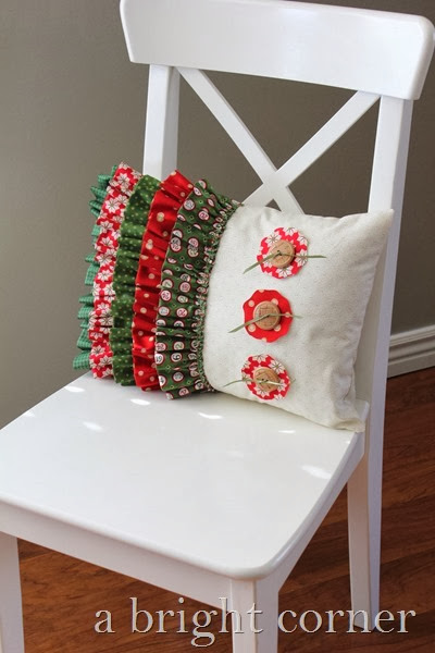 Adorable Christmas pillow