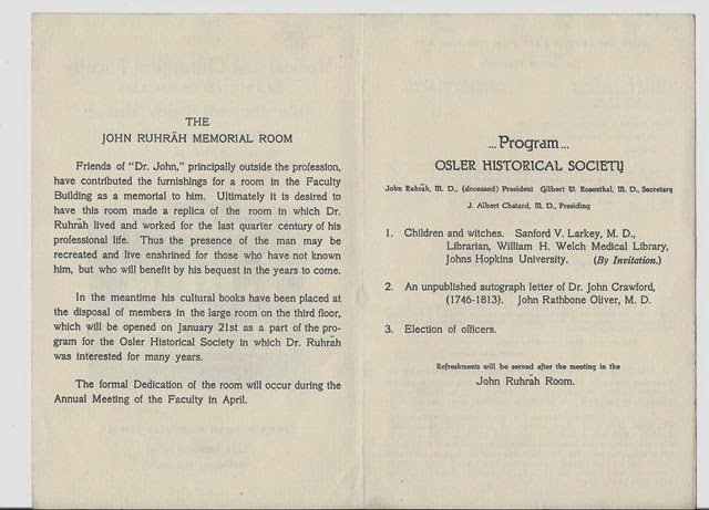 osler historical society lecture 1936 2