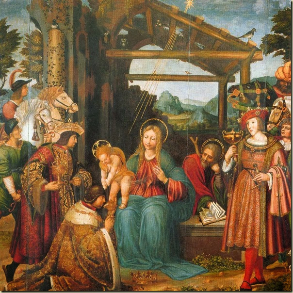 Marco Cardisco, Adoration des Mages 1519
