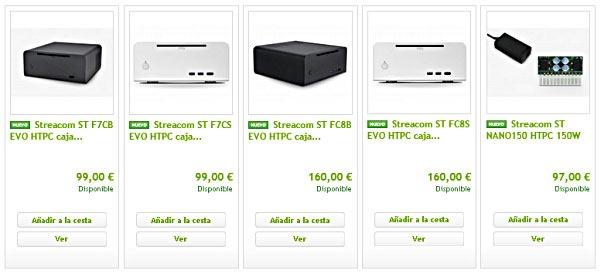 Streacom a la venta en España