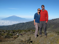 Kili Climb Day 3 - Wicked views