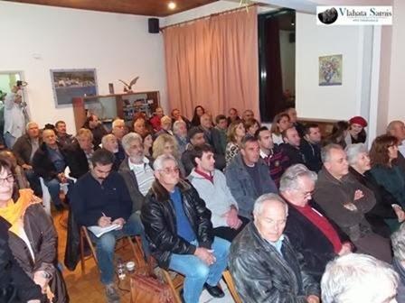Λαϊκή Συνέλευση των κατοίκων της Πυλάρου: Σε κλίμα ομοψυχίας απέναντι στις ορέξεις παραγόντων και συμφερόντων.