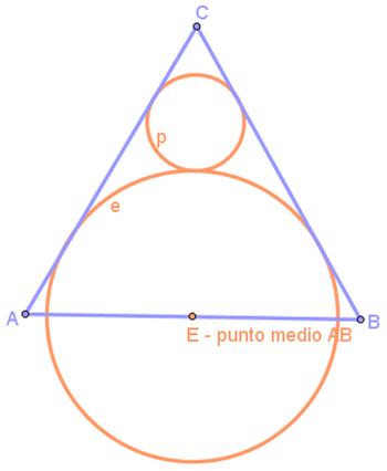 circonferenze su tr.equilatero