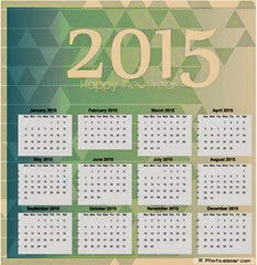 винтаж календарь 2015