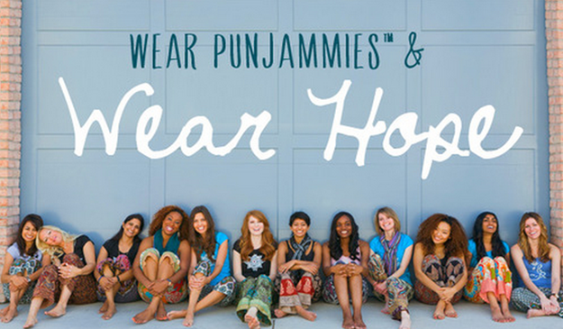 Punjammies are sari-inspired pajamas. Each pair of Punjammies are created in an after-care facility for women who have been rescued, released or escaped from a life of forced prostitution. Holistic aftercare involves quality medical care, emotional safety, education and the tools to create a new way of life for herself.