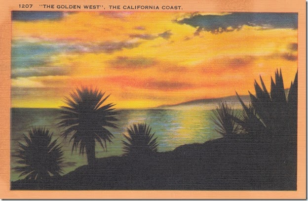 The Golden West, The California Coast Pg. 1