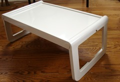 Multi-purpose tray, serving folding table, designed by Luigi Massoni for Guzzini, Italy