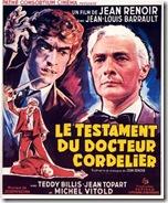 affiche Testament du Docteur Cordelier 1959