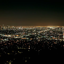 Los Angeles by Richard Timothy Pyo - City,  Street & Park  Skylines
