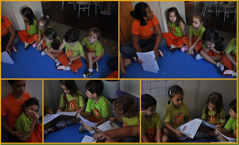 Infantil 3 Tarde - Escolha de livro1