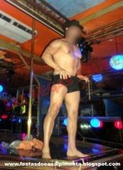 Stripper Homem Berinjela