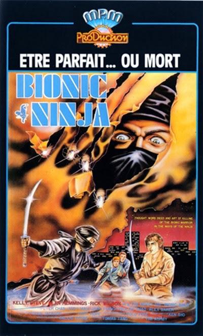 Bionic Ninja 1986 poster