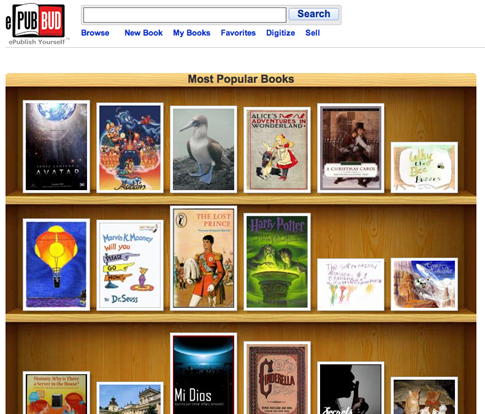 Epub bud librer a online para vender mis libros digitales for Libreria on line