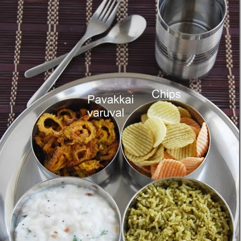 7s meal series - 3 (South Indian variety Lunch)