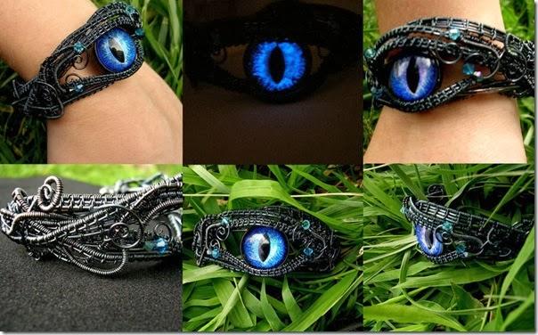 custom_kraken_blue_gunmetal_bracelet_by_ladypirotessa-d6ik915