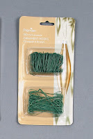 Twin Pack Ornament Hooks - Green