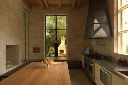 cocina-muro-piedra-vista