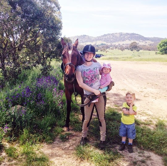 Family Photo: October 2014 - A Riding Habit