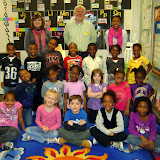WBFJ Cici's Pizza Pledge  - Brightwood Elementary - Mrs. Kirkman's Kindergarten Class - 3-7-12