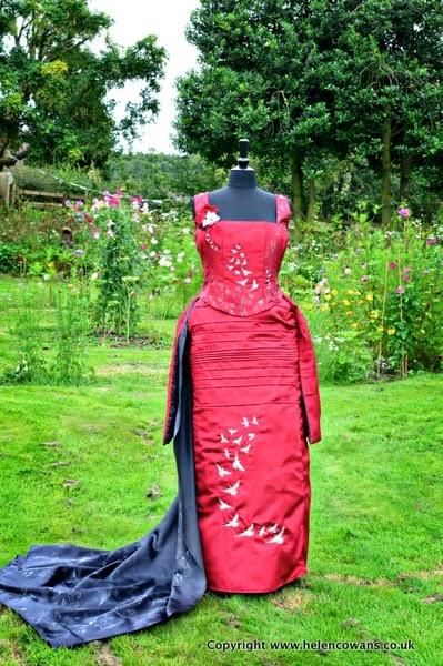 Edwardian Dress front finished