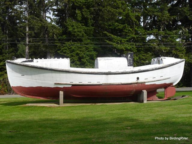 1930's Life Saving boat