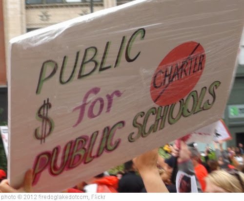 'CTU Strike: 'Public $ for Public Schools' Sign' photo (c) 2012, firedoglakedotcom - license: http://creativecommons.org/licenses/by-sa/2.0/