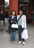 Atsuko and Maria at Senso-ji