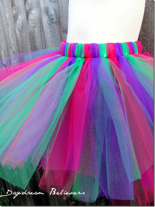 pink purple green custom tutu