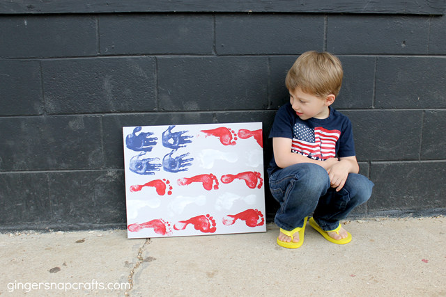 kid craft for the 4th of July