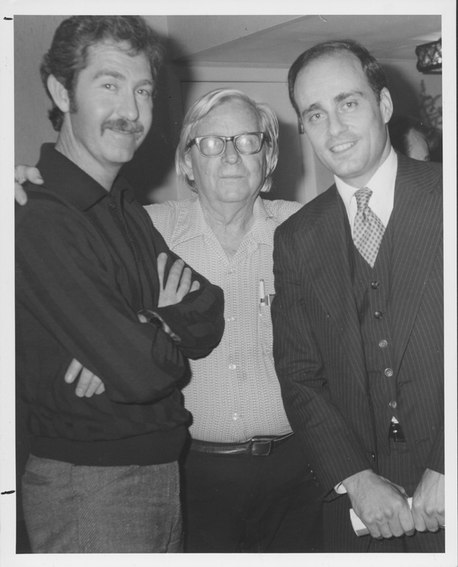Clayton Wells, Morris Kight, and Vince Bugliosi. 1971.