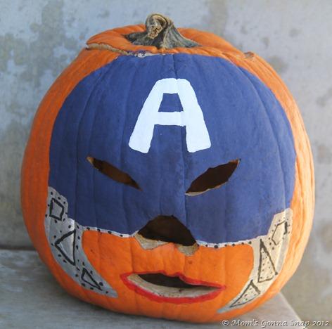 Captain America Pumkin MomsGonnaSnap (2)