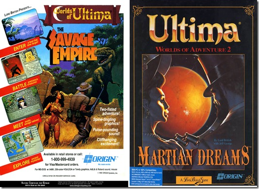 Savage Empire e Martian Dream gratis su GOG