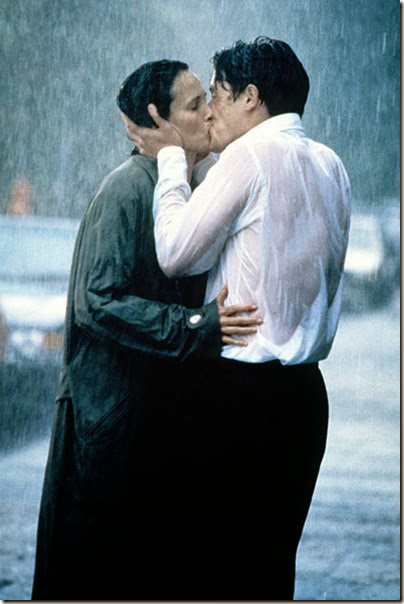 **File Photos**<br />BEST FILM KISSES<br />With Valentine's Day on its way, these romantic movies will get you in the mood for love, as we take a look at famous lip locking movie scenes<br /><br />Andie MacDowell and Hugh Grant<br />in 'Four Weddings and a Funeral'<br />England - 1994<br /><br />This is a PR photo. WENN does not claim any Copyright or License in the attached material. Fees charged by WENN are for WENN's services only, and do not, nor are they intended to, convey to the user any ownership of Copyright or License in the material. By publishing this material, the user expressly agrees to indemnify and to hold WENN harmless from any claims, demands, or causes of action arising out of or connected in any way with user's publication of the material.<br />Supplied by WENN.com