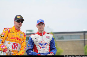 Ryan Hunter-Reay, Sebastien Bourdais