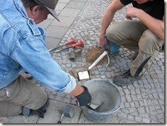 Littenstr. 2 Band Stolperstein