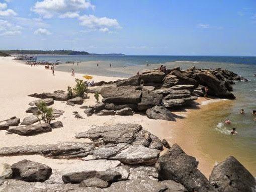 Praia Ponta de Pedras, Santarém - Parà