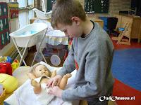 De ZON-groep werkt met het thema:de baby (2)
