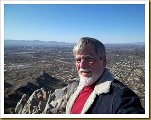 Ron at top of Squaw Peak
