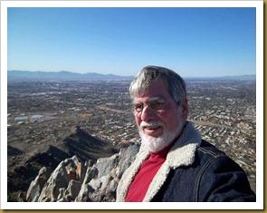 Ron at top of Squaw Peak