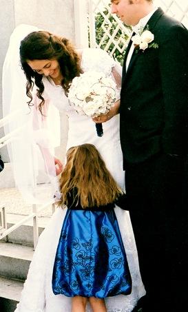 Camilla hugging Kristina