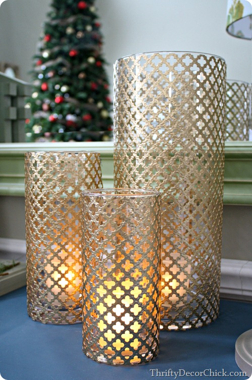 Radiator sheet candleholders