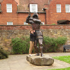 Statue of Harry Hotspur in Alnwich