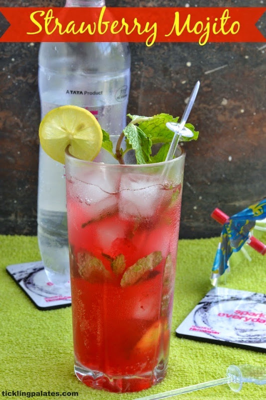 Strawberry Virgin Mojito