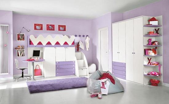 couleur chambre jeune femme chambre ado fille moderne ikea with - Chambre Ado Fille Moderne Violet