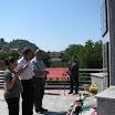 Туњице код Новог Града, 5.8.2012., делегација Веритаса полаже цвијеће и пали свијеће страдалим жртвама хрватске агресије на Репулику Српску у септембру 1995. године